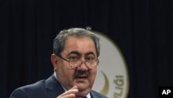 عراقی وزیر خارجہ ہوشیار زیباری (فائل فوٹو)