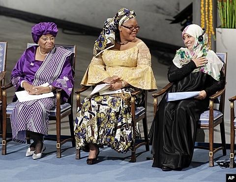 Nobel peace leymah