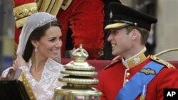 شهزاده ویلیام و همسرش کاترین