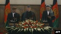 سخنان رییس جمهوری افغانستان در مراسم تحلیف با استقبال احتیاط آمیز دیپلمات های غرب روبرو شد