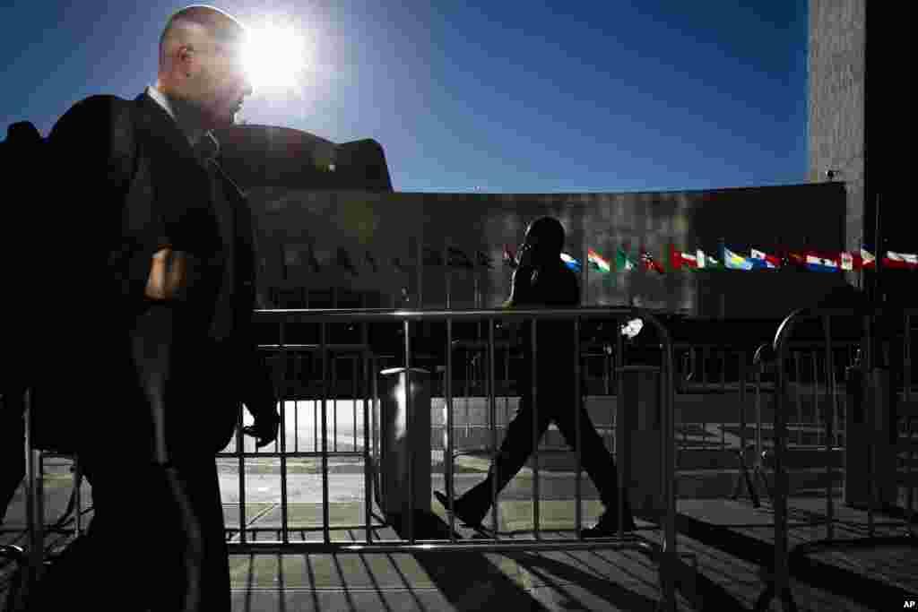 Estrictas medidas de seguridad en Nueva York y alrededor de las instalaciones de la Organización de Naciones Unidas.