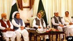سفر هیئت صلح افغانستان به پاکستان