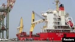 Pelabuhan di Aden, Yaman selatan (foto: ilustrasi). Koalisi pimpinan Arab Saudi memblokir pelabuhan-pelabuhan di Yaman.
