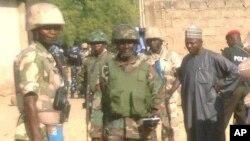 Tentara Nigeria melakukan patroli di Maiduguri (foto: dok).