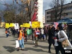 Osmomartovski marš u Banjaluci