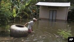 دریائے میکونگ میں تغیانی سے بنکاک اور نوم پنھ کو خطرہ