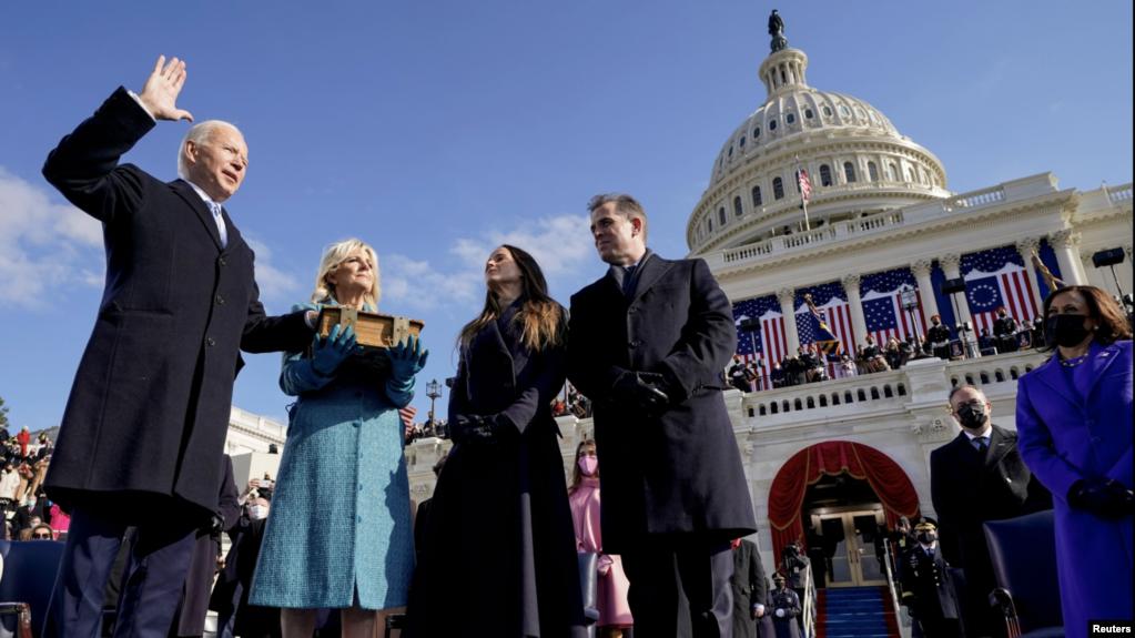 قومی یکجہتی مستقبل کی راہ ہے: صدر بائیڈن کا تقریبِ حلف برداری سے خطاب