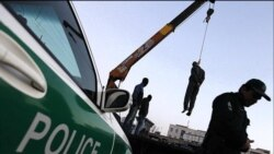اعدام یک متهم در ملاء عام در استان البرز