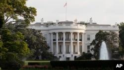 미국 워싱턴의 백악관 건물