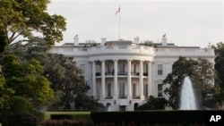 미국 수도 워싱턴의 백악관 건물 (자료사진)