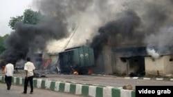 Pamje nga pasojat e sulmit në Nigeri