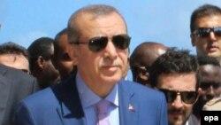 Le président Recep Tayyip Erdogan, 3 juin 2016. epa/SAID YUSUF WARSAME
