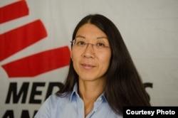 MSF's international president is Joanne Liu. (Courtesy photo by Natacha Buhler/MSF)