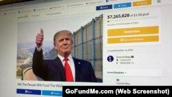 Trang GoFundMe của cựu chiến binh Brian Kolfage kêu gọi người dân góp tiền xây tường biên giới đã thu hút sự chú ý trên toàn quốc kể từ khi khởi động vào tháng trước.