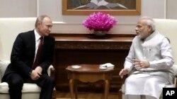 Một thỏa thuận mua bán vũ khí được ký bên lề cuộc gặp thượng đỉnh lãnh đạo Ấn-Nga, 5/10/2018