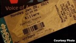"Film ""Killers"" diputar perdana di Festival Film Sundance 2014 di Egyptian Theatre, Park City, Utah (Dok: Vena Annisa)"