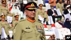 Начальник штаба армии Пакистана генерал Камар Джавед Баджва