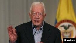 Cựu Tổng thống Mỹ Jimmy Carter.