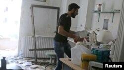 Госпиталь в Алеппо