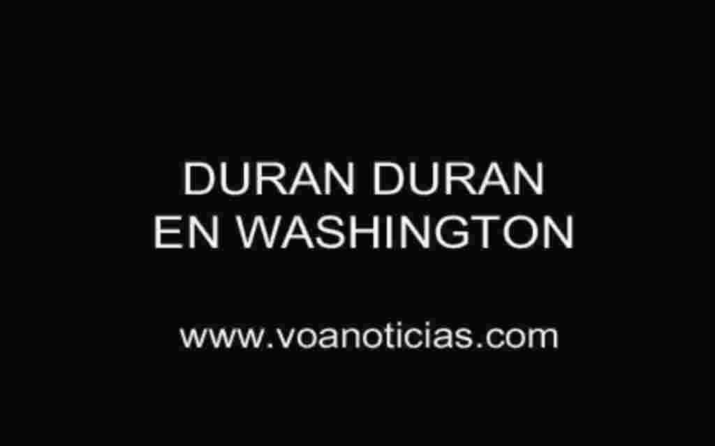 Duran Duran en Washington