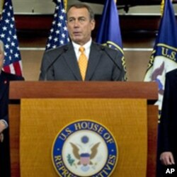 Le député républicain John Boehner de l'Ohio, probable président de la Chambre des repreprésentants