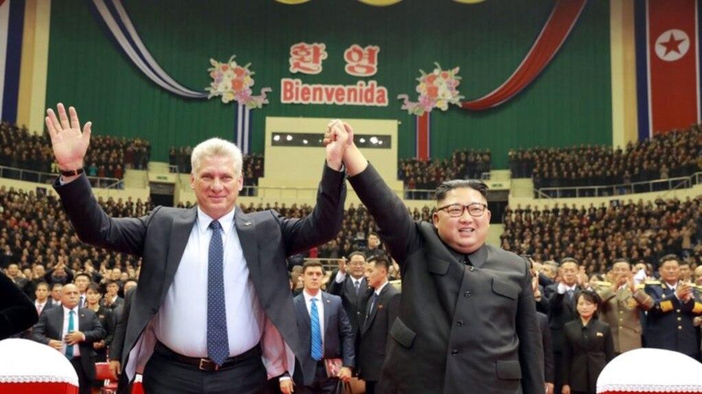Chủ tịch Cuba Miguel Díaz Canel đã đến Bình Nhưỡng trước khi đến Bắc Kinh