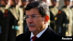 ترکی کے وزیراعظم احمد داؤد اغلو (فائل فوٹو)