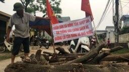Một hình ảnh ghi lại tại Đồng Tâm năm 2017.