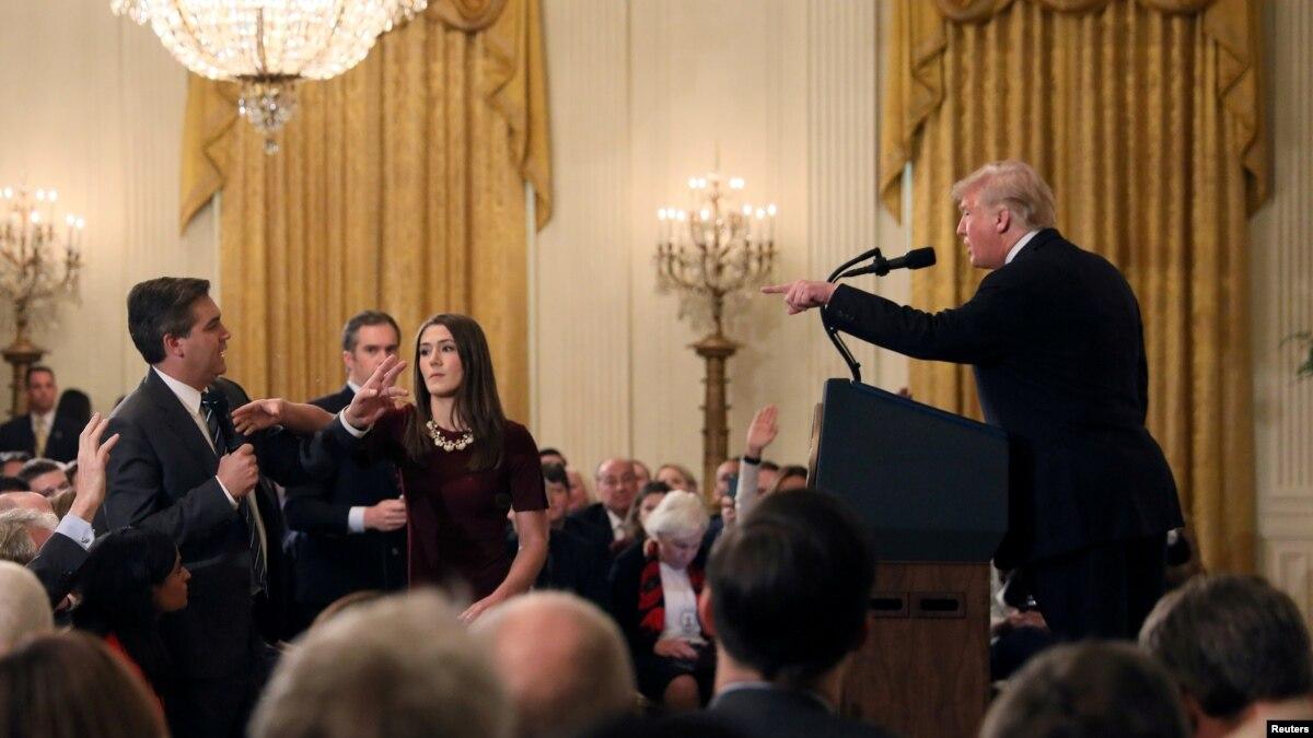 SHBA  polemika mbi akreditimin e gazetarit Jim Acosta