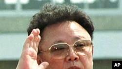 North Korean leader Kim Jong Il makes a surprise appearance at Sunan airport outside Pyongyang. (File)