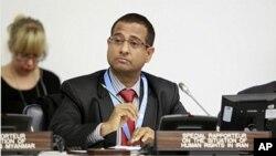 아흐메드 샤히드 유엔 이란인권특별조사관 (자료사진)