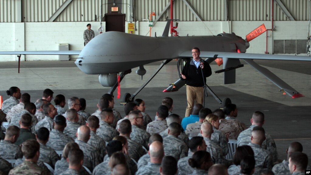 Military Drones Flood War Skies Over Syria Iraq