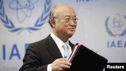 아마노 유키야 IAEA 사무총장 (자료사진)