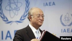 Uluslararası Atom Enerji Dairesi Başkanı Yukiya Amano
