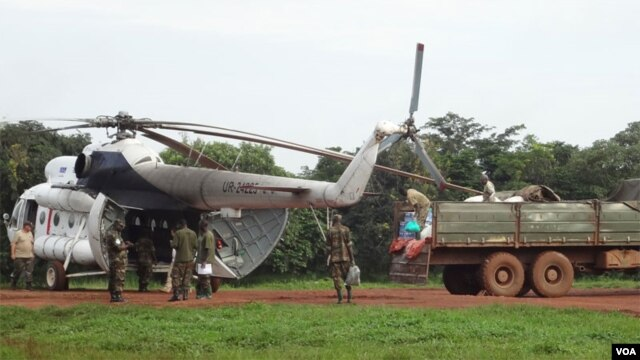 Ugandan forces prepare to search for the Lord's Resistance Army. Credit: Enough Project