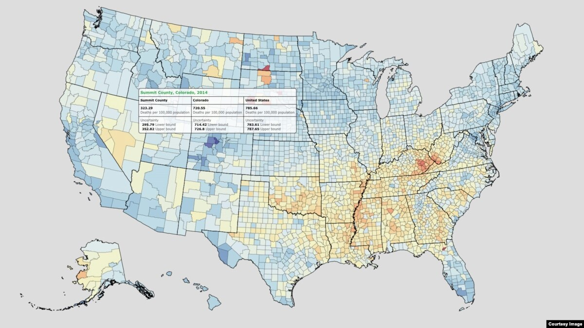 How Long Americans Live Depends on Where They Live