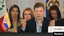 El presidente Juan Manuel Santos le ha dado plazos al proceso de diálogo con la guerrilla, que se opone a esos términos.