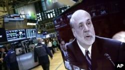 Los mercados financieros suben a la espera de la conferencia de prensa de Bernanke.