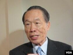 台湾执政党国民党立委陈镇湘(美国之音 张永泰)