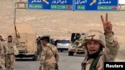 Sirijska vladine snage na ulazu u Palmiru