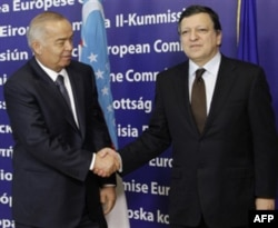 Barroso va Karimov, 24 yanvar, Bryussel