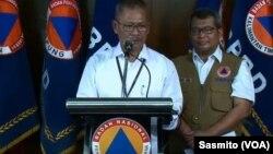 Juru bicara Pemerintah untuk Penanganan Virus Corona Achmad Yurianto saat menggelar konferensi pers di Gedung BNPB Jakarta (foto: dok).