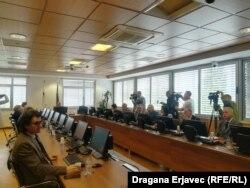 Sjednica VSTV na kojoj je podržan rad Milana Tegeltije