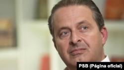 Eduardo Campos, candidato à Presidência do Brasil para as eleições de Outubro 2014. O candidato morreu a 13 de Agosto de 2014
