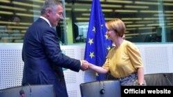 Crnogorski premijer Milo Đukanović u Evropskom parlamentu (gov.me)