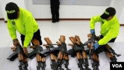 El gobierno mexicano señala que más del 80% de las armas del crimen organizado provienen de Estados Unidos
