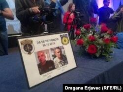 Komemoracija ubijenim policajcima odražana u Sarajevu 29. oktobra