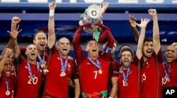 Portugal defeated France to win Euro 2016.