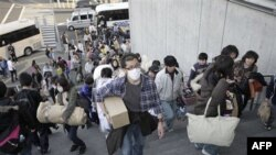 Yaponiyada yüz minlərlə adam evsiz qalıb