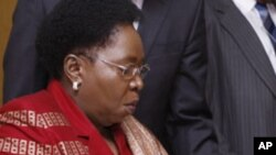Nkosazana C. Dlamini-Zuma (2008 file photo).